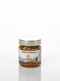 Honig mit Nüssen 170g